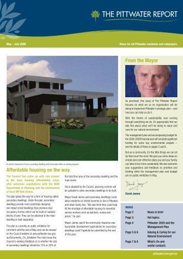 May Issue - Pittwater Council