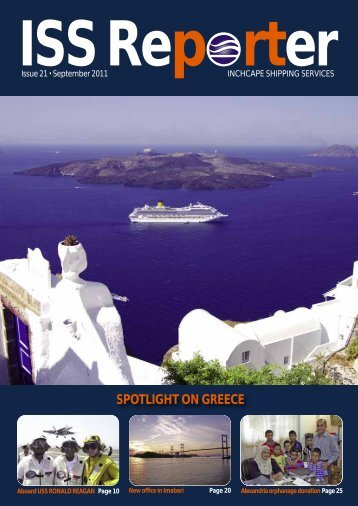 SPOTLIGHT ON GREECE - Inchcape Shipping Services