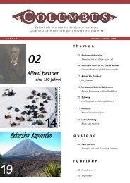 Ausgabe 18 - Geographisches Institut Uni Heidelberg
