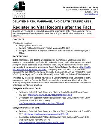 Vital Records / Certified Birth Certificate - Osceola County Tax ...