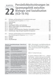 ICD-10 F6 - State of the Art