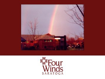Welcome to Four Winds Saratoga