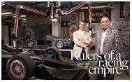 Gian Paolo Dallara and new business partner Andrea Pontremoli ...