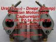 Part 2A:PZ-24 and PZ-28 Carburetors - Good Karma Productions