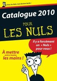 Cata EGF 2010.indd - Pour les Nuls