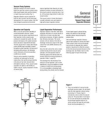 Guide to Vacuum Pump Liquid Silencers - Universal: Acoustic ...