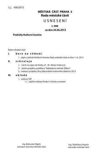 Usnesení v. 2.5 - Praha 3