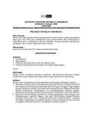 instruksi presiden republik indonesia nomor 8 tahun 1998 tentang ...