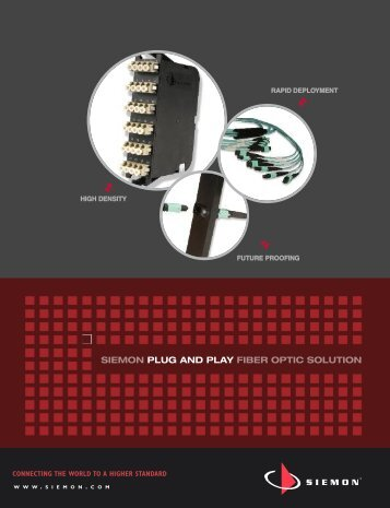 Plug and Play Channel Configurations - Siemon