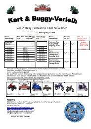 Buggy und Kart Verleih - Motorrad Urlaub Sardinien