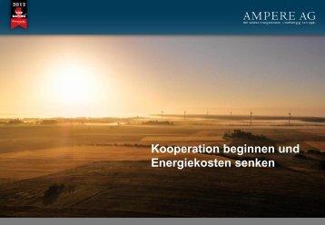 Kooperation beginnen - Ampere AG