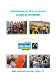 Aktionskatalog für bestehende FAIRTRADE ... - Welthaus Graz