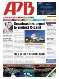 Broadcasters urged to protect C-band - Realview