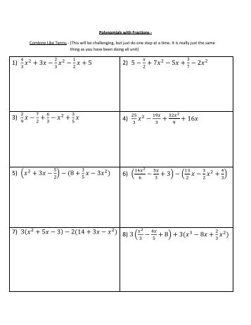 Printables Combining Like Terms Worksheet 7th Grade solving equations combining like terms worksheet pdf collecting distributive property and pdf