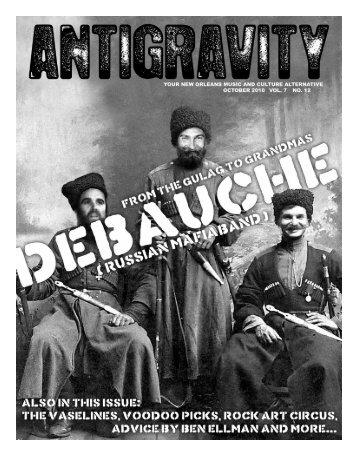 October 2010 (PDF) - Antigravity Magazine