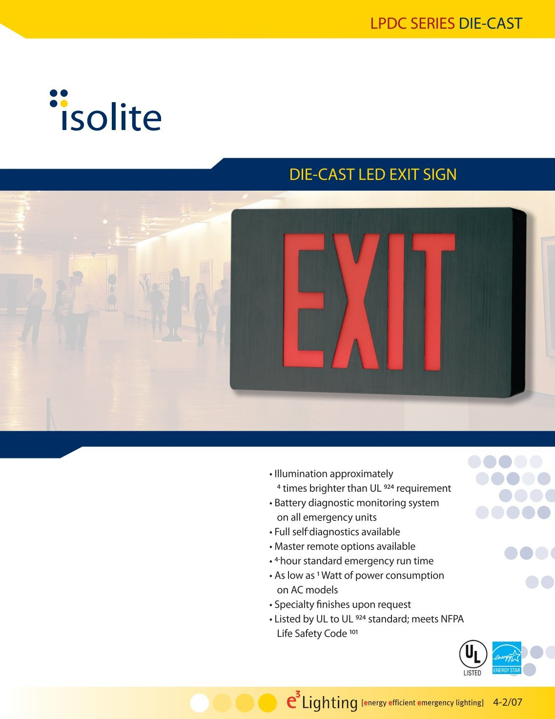 lpdc series die cast die cast led exit sign?quality\\\=80 von duprin el 99 wiring diagram gandul 45 77 79 119 narco escort ii wiring diagram at eliteediting.co