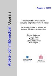 3/2012 - Arbets- och miljömedicin   Uppsala
