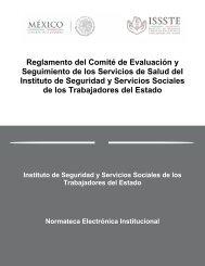 Reglamento del Comité de Evaluación y Seguimiento de los ...