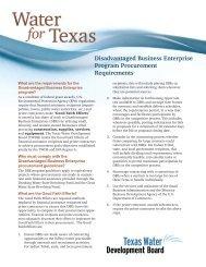 Disadvantaged Business Enterprise Program Procurement ...