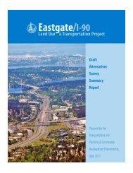 Draft Alternatives Survey Summary Report - City of Bellevue