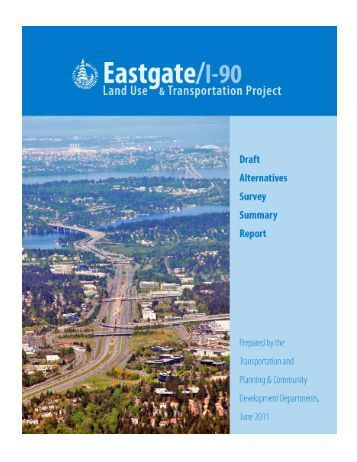 Draft Alternatives Survey Summary Report - City of Bellevue