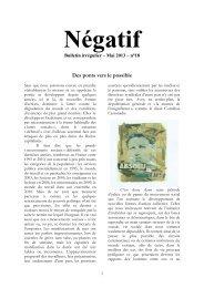 Négatif n°18 - Non Fides - Base de données anarchistes