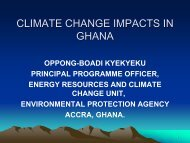 CLIMATE CHANGE THE GHANAIAN CONTEXTNA Climate change ...