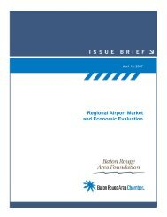 Regional airport study - Baton Rouge Area Foundation