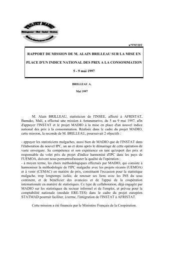 pdf 60 ko - Institut national de la statistique malgache (INSTAT)