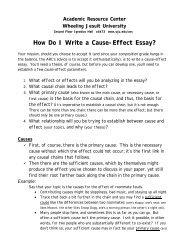 How Do I Write a Comparison/Contrast Essay? - Wheeling