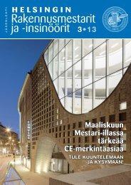 Yhdistyksen jäsenlehti 3/13, PDF tiedosto - Helsingin ...