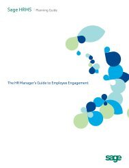 The HR Manager's Guide to Employee Engagement - Zift Solutions