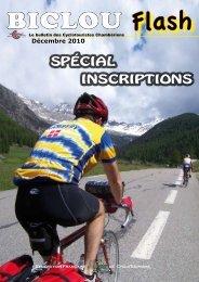 Décembre 2010 - Accueil cyclotouristes Chamberiens - Free