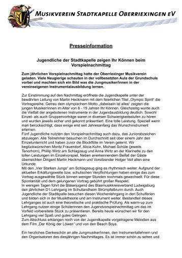 pdf - Musikverein Stadtkapelle Oberriexingen eV