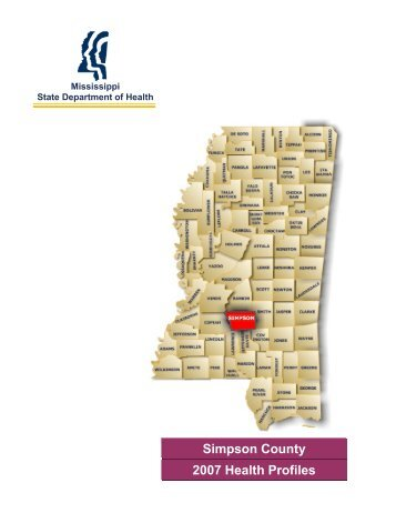 Simpson County 2007 Health Profiles - Mississippi State ...
