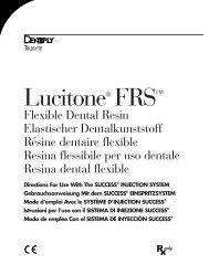 Lucitone® FRS™ - DENTSPLY Prosthetics