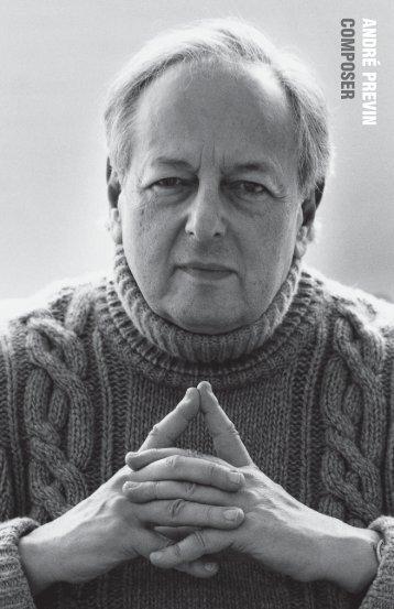 ANDRÉ PREVIN COMPOSER - G. Schirmer