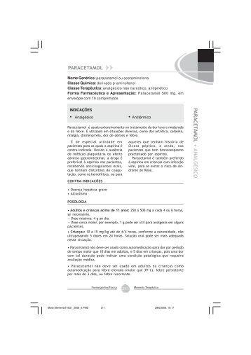 Paracetamol - Farmanguinhos - Fiocruz