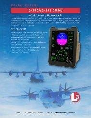 Display Systems C-130J/C-27J CMDU - L-3 Communications
