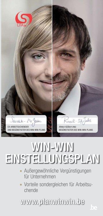 WIN-WIN EINSTELLUNGSPLAN