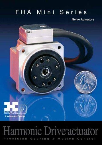 FHA-C Mini 100v User Manual PDF - Harmonic Drive LLC