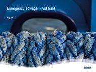 Australian ETV Provision - Presentation