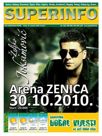 Zenica, Kakanj, Busovača, Žepče, Vitez, Fojnica, Visoko ... - Superinfo