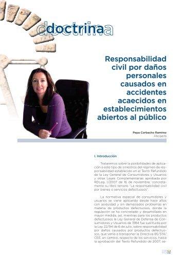 Responsabilidad civil por daños personales causados en ...