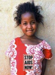 corporate brochure - Stop AIDS Now