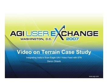 Video on Terrain Case Study - AGI