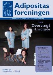 Nr. 4 - Tema Overvægt og livsglæde - Adipositasforeningen