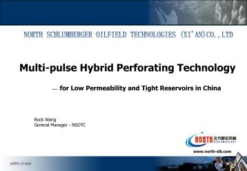 Multipulse Hybrid Perforating in Low Perm and ... - Perforators.org