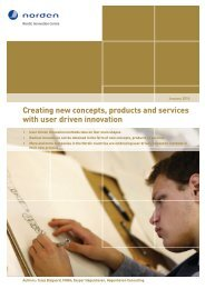 Creating new concepts, products and services with user driven ...