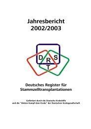 Jahresbericht 2002/2003 - DRST